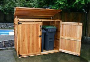 Garbage Storage Sheds