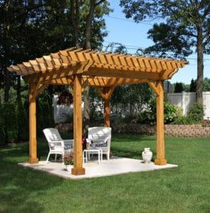 Woodwork pergula