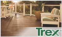 Trex deck lumber